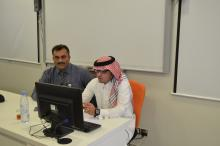 Online presentation of International Collaboration Program for College of Engineering and Science; and College of Business Administration (women colleges) Alkharj (04-02-2014)
