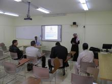 Presentation of International Collaboration Program in Community College Alkharj (18-2-2014)