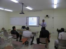 Presentation of International Collaboration Program in Community College Alkharj (18-02-2014)